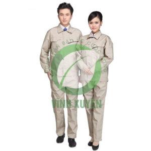 Áo kaki Nam Định may sẵn màu ghi