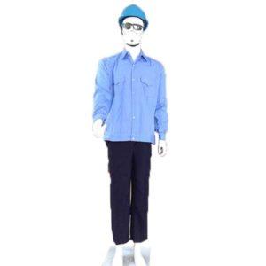 quần áo bảo vệ màu xanh nước biển