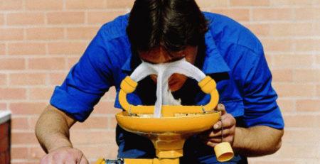 thiết bị rửa mắt khẩn cấp tại hải phòng