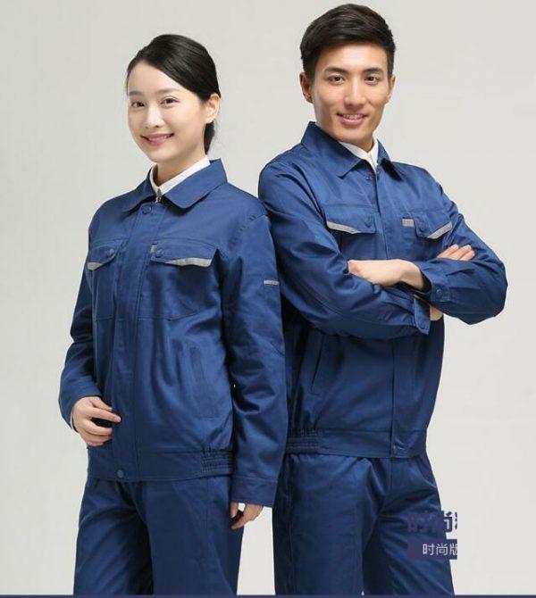 Đồng phục công nhân ở Hải Phòng