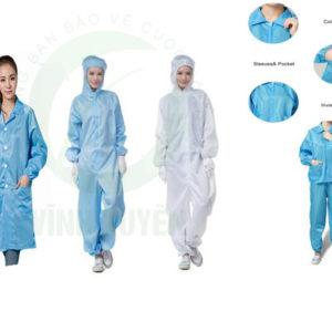 quần áo phòng sạch nữ