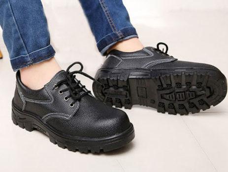 phân biệt giày da bảo hộ là thật hay giả