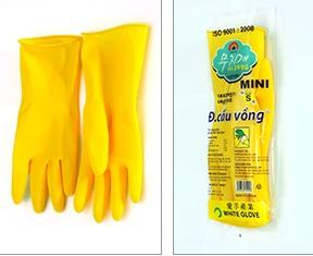 găng tay cao su cầu vồng mini