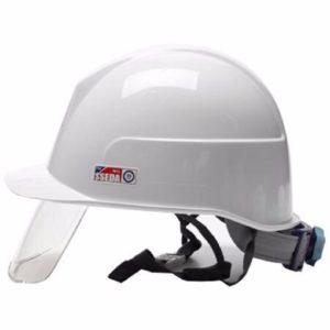 mũ seda 1313 trắng có kính