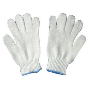 găng tay sợi (cổ xanh)