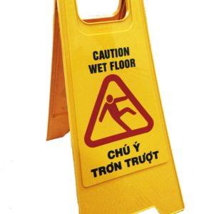 biển cảnh báo chống trơn trượt