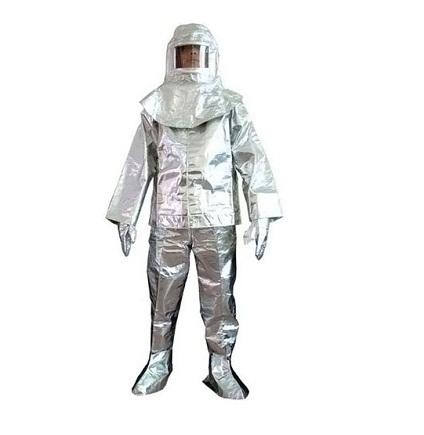 quần áo pccc amiang màu bạc