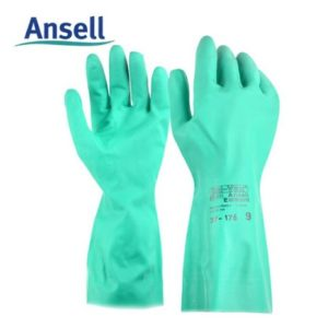 găng tay hóa chất ansell 37-176