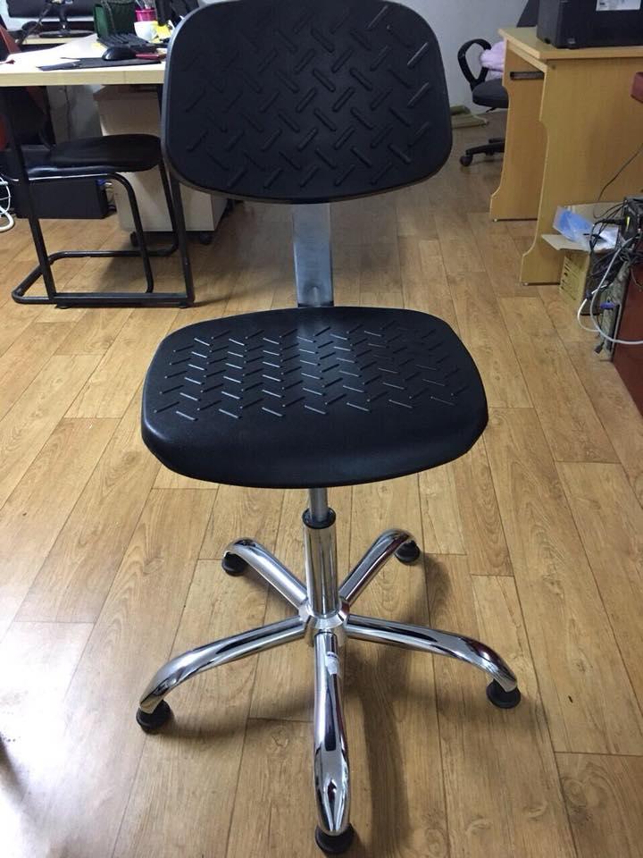 ghế tĩnh điện có tựa vân sần