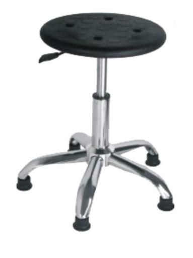 ghế tĩnh điện mặt pu chân cố định