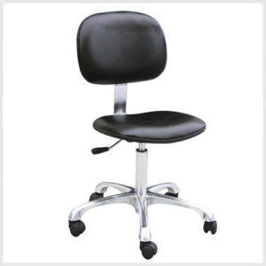 ghế tĩnh điện tựa có chân bánh xoay