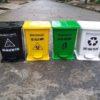 thùng rác y tế đạp chân 15l