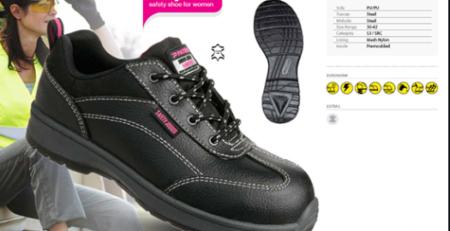 giày bảo hộ nữ